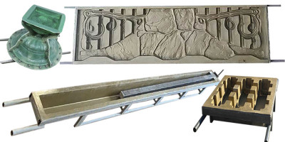 Склопластикові форми для бетону