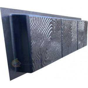 Форма для бордюра Дерево из АБС №8 Размеры: 500х250х50 мм