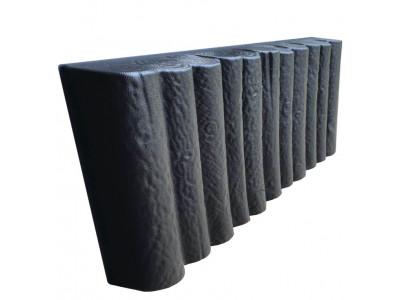 Форма для бордюра Колышки из АБС №7 Размеры: 500х250х50 мм
