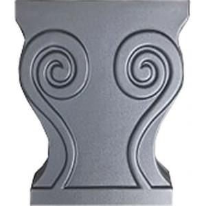 Форма для скамейки Ножка из АБС №1
