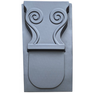 Форма для скамейки Ножка из АБС №2