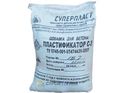 Пластификатор для бетона С-3 (СП-1) для бетона