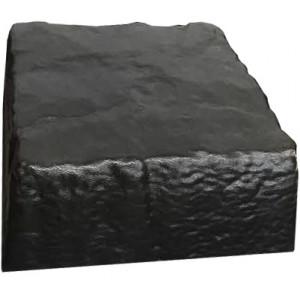 """Форма для крышки столба """" Сланец """" Размеры: 200х200х70 мм"""