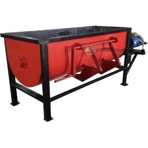 Compulsory mortar mixer Rsh-750 Volume Pear 750 l