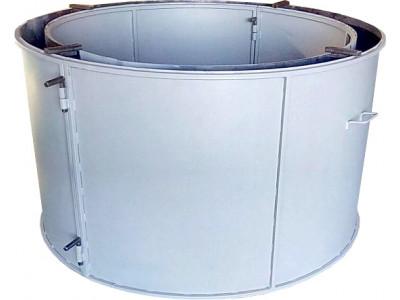 Форма для бетонного кольца колодезного №5 стенка 2 мм