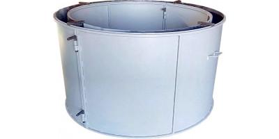 Форма для бетонного кольца колодезного №7 стенка 4 мм Размеры 1700/1500/890 мм