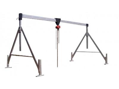 Козловой Кран для железобетонных колец