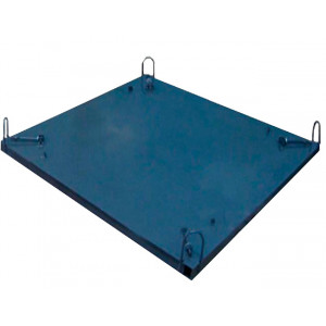 Піддон для бетонного кільця, днища, кришка 2000 мм