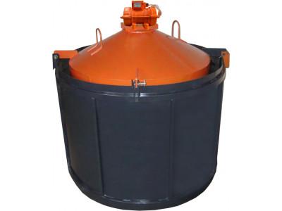 Виброформа облегченная 1000 стенка 2 мм с ИВ-98 для бетонного кольца