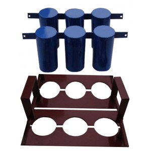Матриця для шлакоблочного верстата СШ-2 на 3 кола