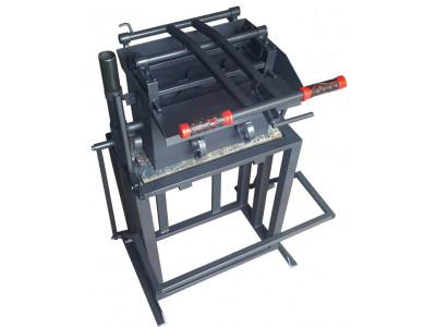 Станок для изготовления шлакоблоков СШ-1С стационарного типа