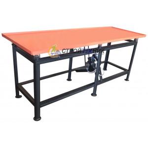 Вибростол бытовой ВСК-2100 (380 В) для изготовлпения забору, тротуарной плитки