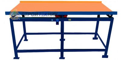 Вибростол бытовой ВСК-2100 для изготовлпения забору, тротуарной плитки