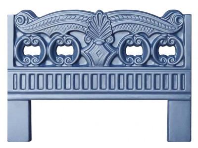 Форма для оградки из АБС №1 Размеры: 600x800x40 мм
