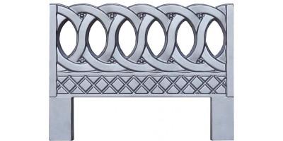 Форма для оградки из АБС №6