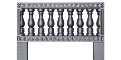 Форма для оградки из АБС №9