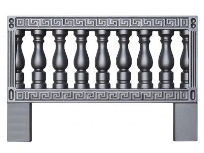 Форма для оградки из АБС №9-А Размеры: 1000x650x20 мм