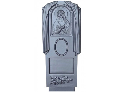 Форма для памятника из АБС №004