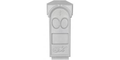 Форма для памятника из АБС №005