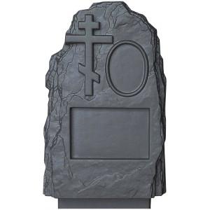 Форма для памятника из АБС №012 Размеры: 800х450х170 мм