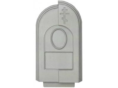 Форма для памятника из АБС №015.2 Размеры: 900х450х100 мм