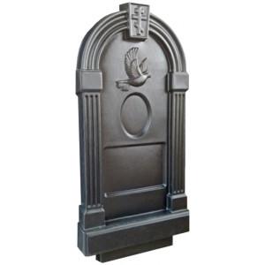 Форма для памятника из АБС №017.1 Размеры: 1030х500х130 мм