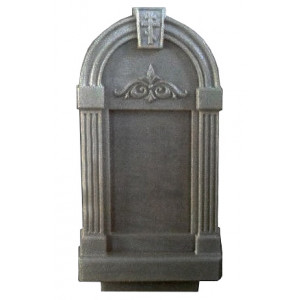 Форма для памятника из АБС №017.2