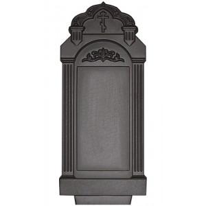 Форма для памятника из АБС №020.1 Размеры: 1030х500х130 мм