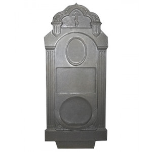 Форма для памятника из АБС №020.2