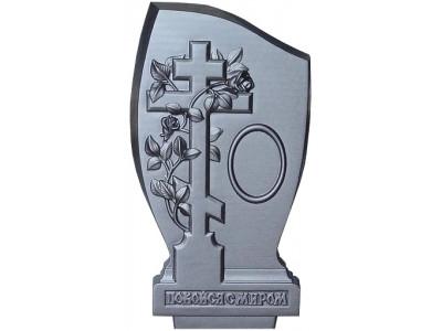 Форма для памятника из АБС №021 Размеры: 1030х500х130 мм