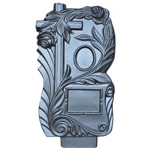 Form for monument from ABS No. 022.1 Size: 1100х580х80 mm