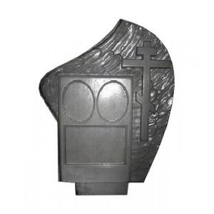 Форма для памятника из АБС №023.2
