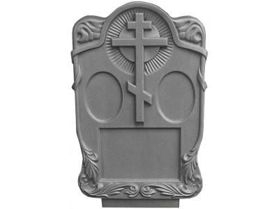Форма для памятника из АБС №024.2