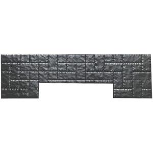 Форма противоусадочной плиты под памятник из АБС №12 Размеры: 2000x600x50 мм