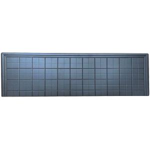 Форма противоусадочной плиты под памятник из АБС №15 Размеры: 1600х625х50 мм