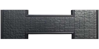 Форма противоусадочной плиты под памятник из АБС №9