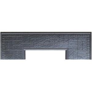 Форма противоусадочной плиты под памятник из АБС №6 Размеры: 2000x600x50 мм