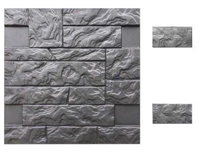 Форма для полифасада из АБС №29 Размеры: 500х500х18 мм