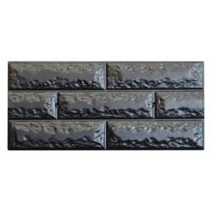 Форма для полифасада из АБС №32 Размеры: 500х250х18 мм