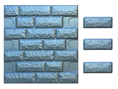 Форма для полифасада из АБС №39