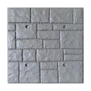 Form for polyfacade from ABS No. 8 Size: 500x500x18 mm