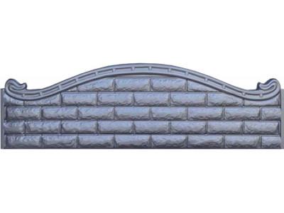 Формы стеклопластиковые для еврозаборов №В-42