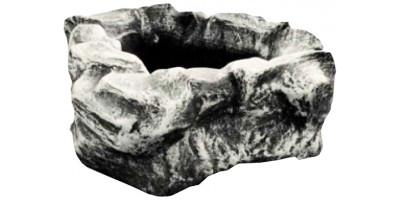 "Форма для вазона из стеклопластика ""Каменный цветок"""