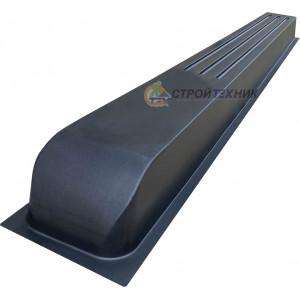 """Форма для столба """"Греция"""" из АБС №39 без пазов Размеры: 2200х200х120 мм"""