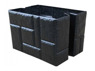 Форма для столба Наборного из АБС №1 Размеры: 350х250х250 мм