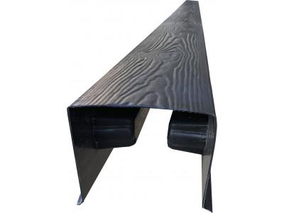 Форма для столба распашная Калипсо оригинал из АБС №35 с пазами