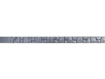 """Форма для столба """" Бут """" из АБС №10 без пазов Размеры: 2300х125х125 мм"""