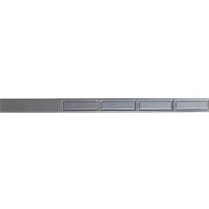 """Форма для столба """" Филенка """" из АБС №14 без пазов Размеры: 2800х125х125 мм"""