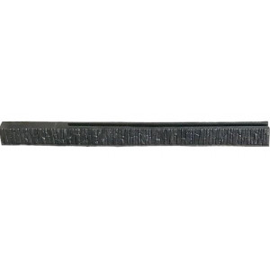 """Форма для столба двухсторонняя """" Песчаник """"распашная из АБС №19 с пазом Размеры: 2850х150х135 мм"""