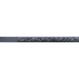 """Form for single-sided post """" Rubble """" from ABS No. 24 with grooves Size: 2750х120х120 mm"""